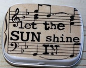 Let the Sun Shine Stash Tin