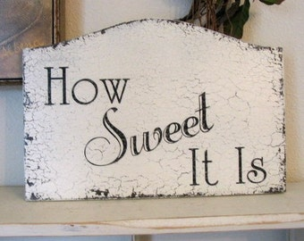 HOW SWEET IT Is Wedding or Reception Signs for Candy Table 13 x 9