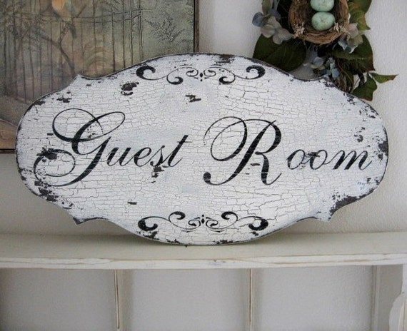 Fashion Inspired Guest Room: GUEST ROOM French Chic Shabby Cottage Vintage Style Chippy