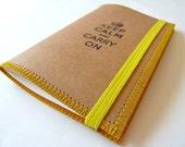 Moleskine Notebook, Yellow