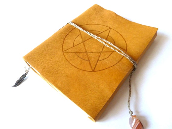 Leather Journal,  Pentagram