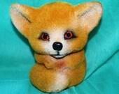 Fuzzy wombat or Fennic Fox vintage bank