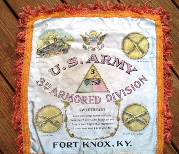 reserved for cochell Fort Knox Kentucky  souvenir pillow