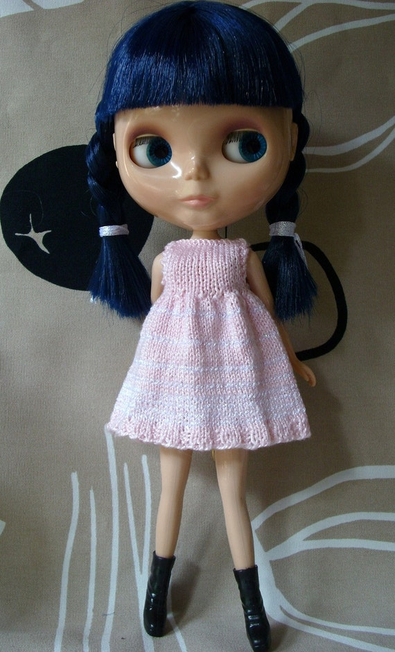 SALE  Knitted dress to Blythe