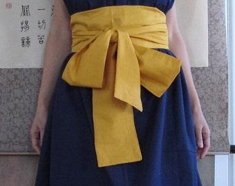 Two Tones Obi belts custom order listing