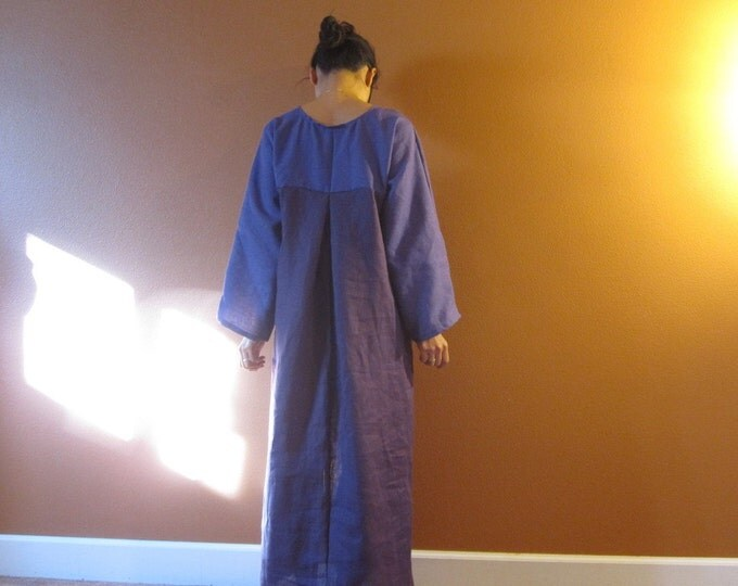 linen two shades dolly hanbok inspired dress