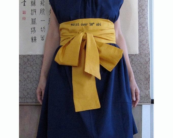 plus size extra long handmade cotton obi sashes / extra long obi belts / plus size obi sash / cotton obi / cotton sash / Japanese obi