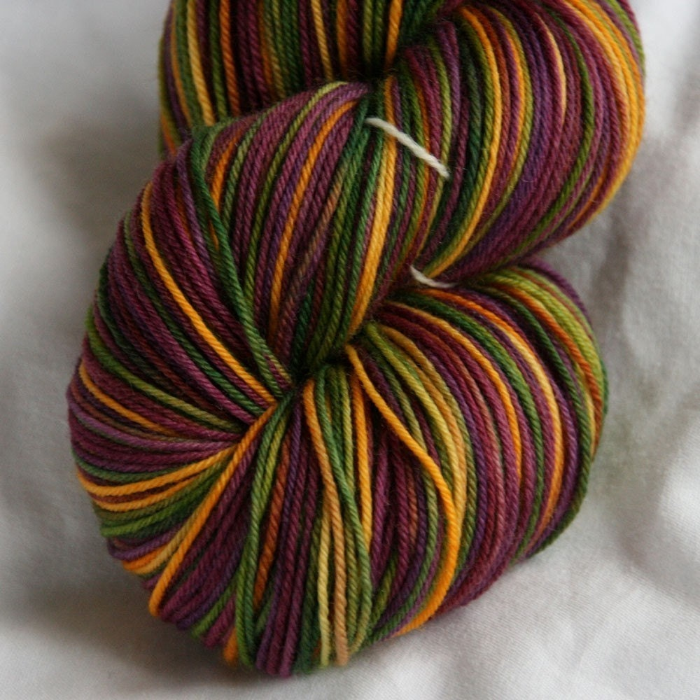 Variegated Sock Yarn New Orleans by DestinationYarn on Etsy