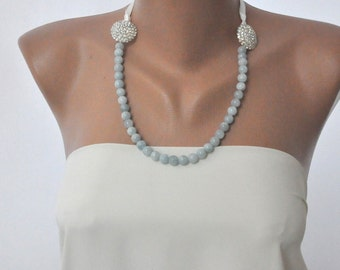 Aquamarine Beach Weddings Necklace