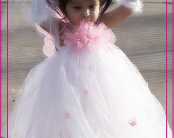 Birthday Princess Party ANY Color Tutu DRESS 12 MONTHS 2T 3T 4T 5T 6
