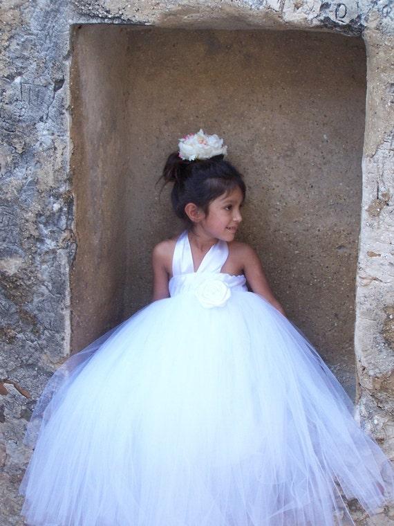Gorgeous Flower Girl Princess Fully Lined Tutu Gown Flower Girl dress Darling