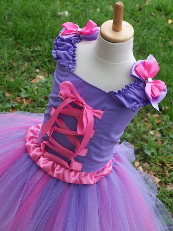 Rapunzel top and tutu dress up outfit sizes 12 months 2t 3t 4t 5t 6 girls christmas dress up