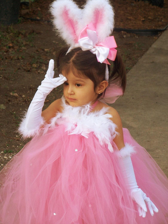 Boutique Pretty Bunny Tutu Dress Costume 12 By Chiclillovebugs