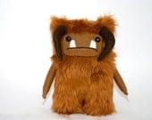 Labyrinth Ludo Fur Goblin Ooak David Bowie. Jim Henson. 15cm