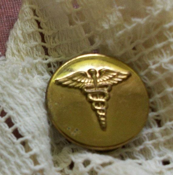 Vintage Caduceus Pin