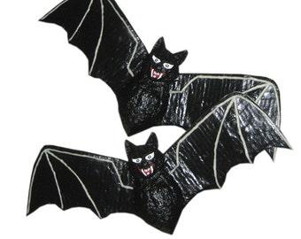 Pattern for Paper Mache Bat