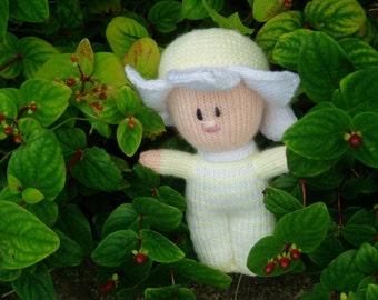 PDF Knitting Pattern - Flower Baby