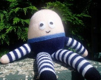 PDF Knitting Pattern - Humpty Dumpty