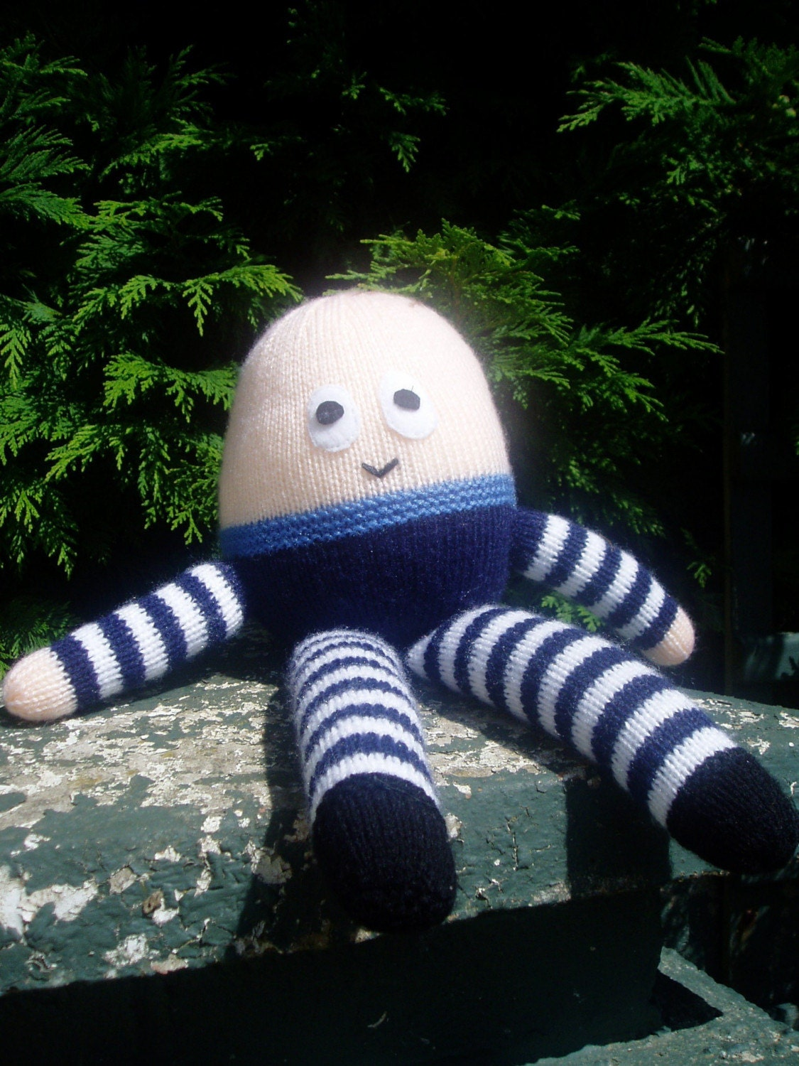 Knitting Pattern For Humpty Dumpty : PDF Knitting Pattern Humpty Dumpty