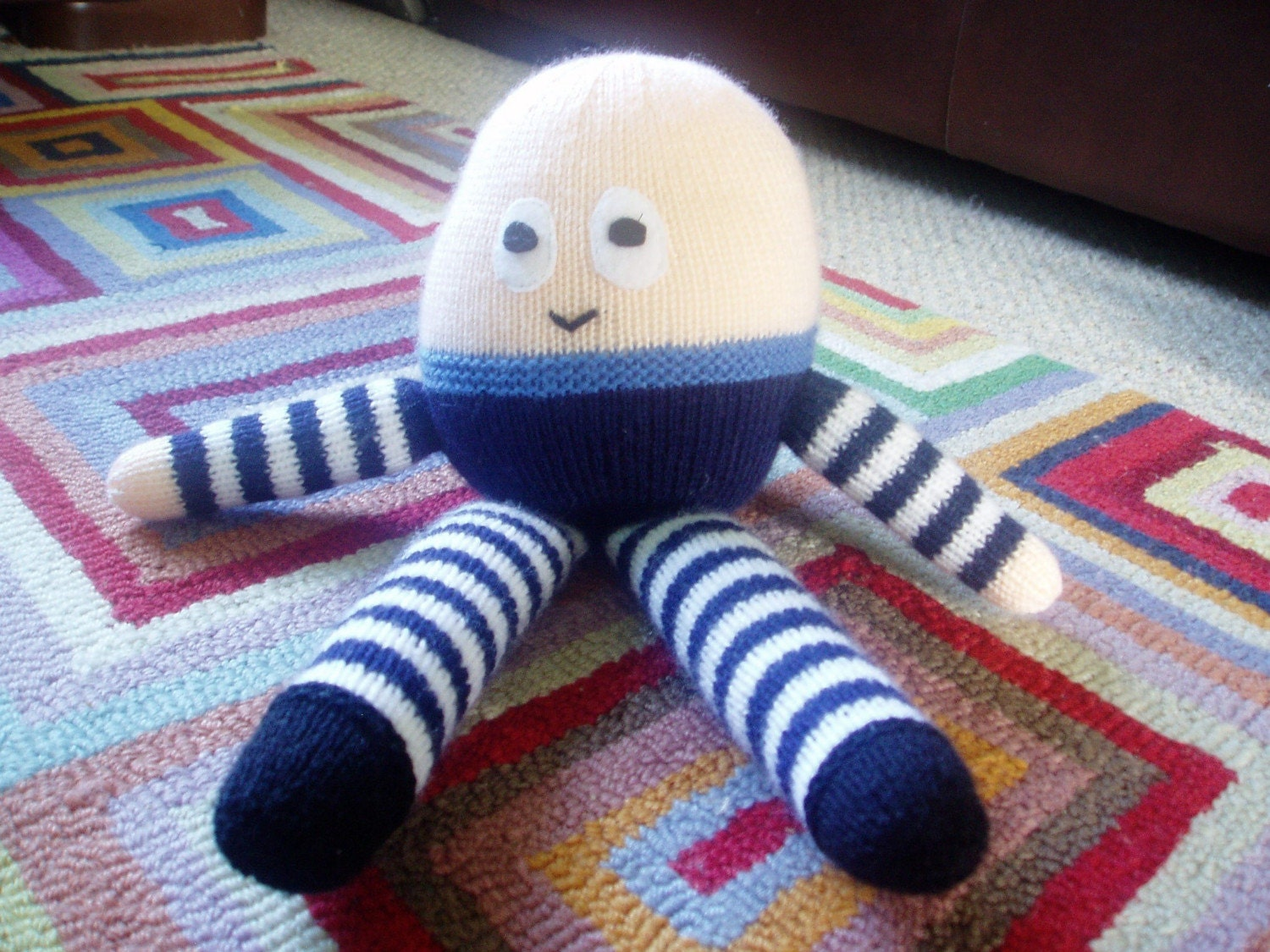 Knitting Pattern For Humpty Dumpty : PDF Knitting Pattern Humpty Dumpty by missaine on Etsy