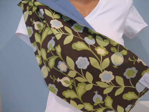 Last One - City Girl Reversible Baby Sling with Pocket - Size Small