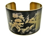 Frida Kahlo cuff bracelet brass or stainless steel adjustable Free Shipping to USA Gifts for her