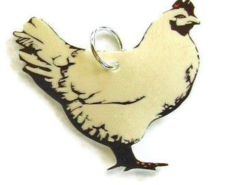 CHICKEN Small Pendant Necklace Gifts for her