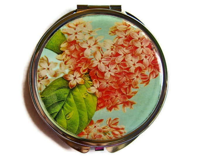Lilac Compact Mirror Pocket Mirror Large Gifts for her
