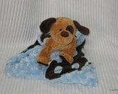 Security Blanket - Tan Puppy - Lovems