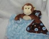 Security Blanket - Monkey - Lovems