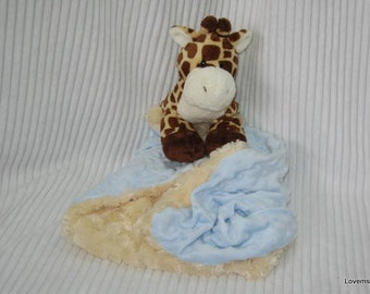 Security Blanket - Giraffe - Lovems - reserved for Emily