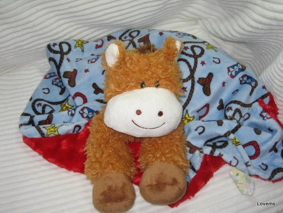 Security Blanket - Pony - Lovems - reserved for Kristeen