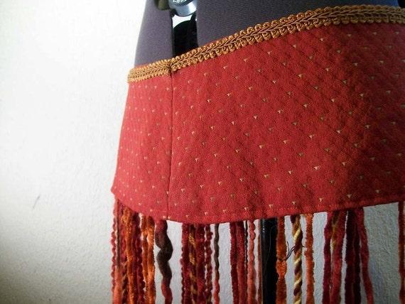 Belly Dance Fringe Belt - Tribal Fusion