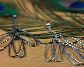 Winged Wire Earrings