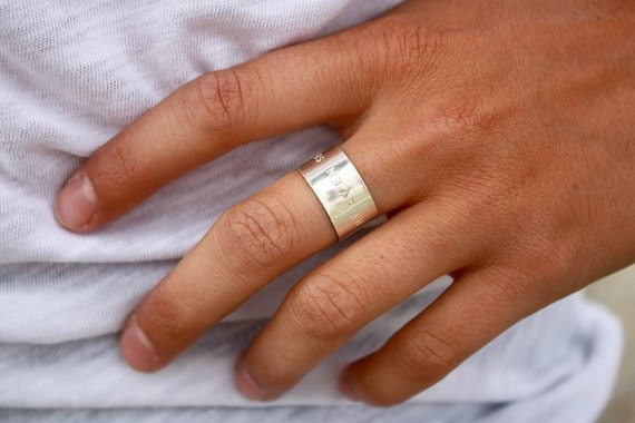 Heaven Sent Sterling Silver Band Ring