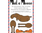 Set of 3 Mail a Moose Postcards (Canadian Moose)