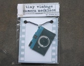Tiny Analog Camera Necklace - Diana Mini - FREE DOMESTIC SHIPPING