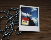 Tiny Polaroid Necklace - Cleveland Series - Closed Forever