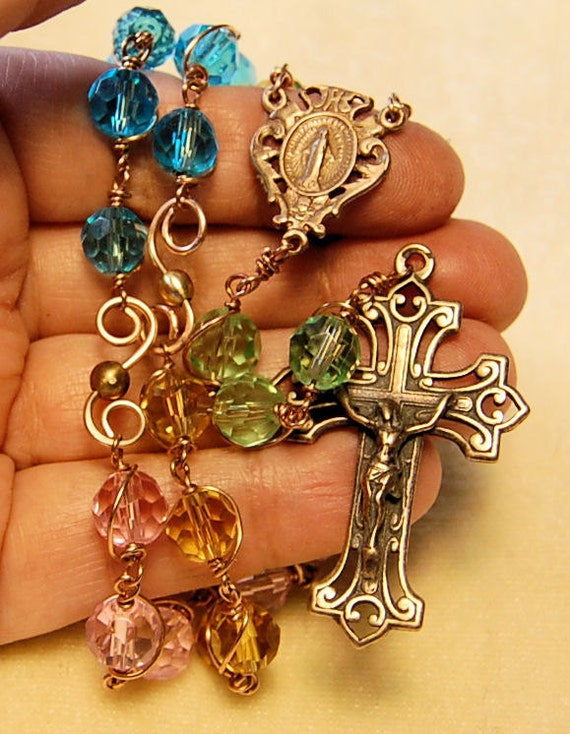 Chaplet for Infertility, difficult pregnancy Hannah's Tears Apostolate with instructions by HeartFelt Rosaries