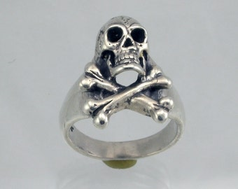 SS Skull and Bones Ring
