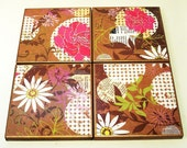 Tile Coaster Set   Drink Coasters Funky Coasters in  Inspired
