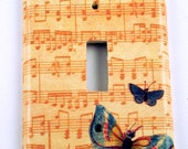 Light Switch Cover Switch Plate in  Beautiful Music