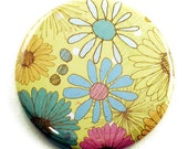 Pocket Mirror  Purse Cosmetic Makeup Mirror in Summertime