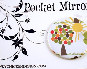 Pocket Mirror Makeup Mirror in  Sunny Day  (PM2)