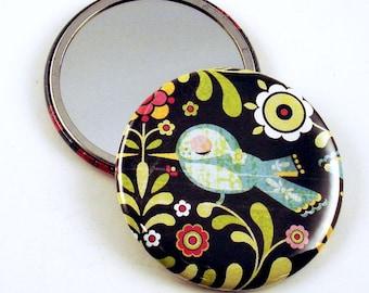 Handmade Pocket Mirror   Meadow  (PM10)