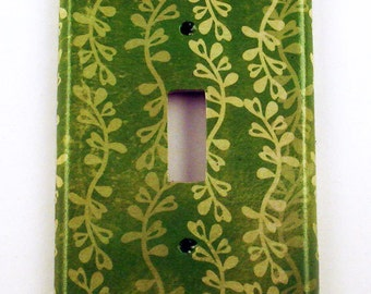 Wall Plates Light Switch Cover Switchplate Switch Plate in  English Moss   (176S)