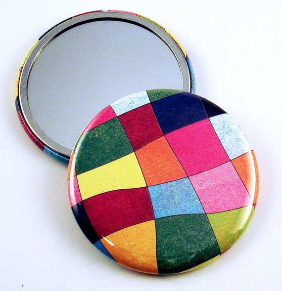 Pocket Mirror  Purse Makeup Cosmetic Mirror in Tutti Frutti  (PM12)