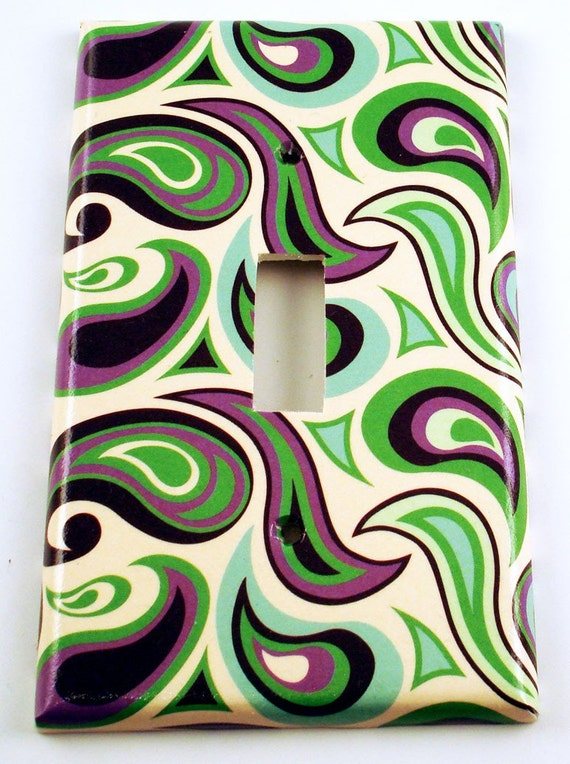 Light Switch Cover Switchplate  in Lava Lamp  (158S)