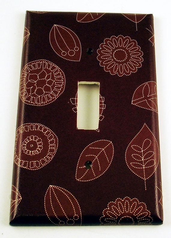 Funky Switch Plate  Wall Decor Light Switch Cover   Swithplate  in Seasons End  (288S)