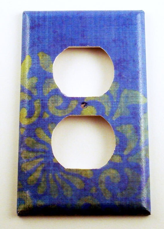 Light Switch Cover Wall Decor  Switchplate Switch Plate Outlet in  Camille  (108O)